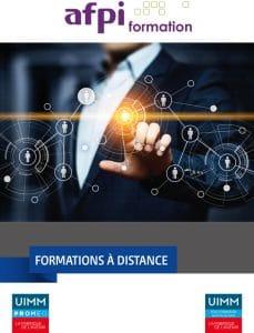 offre de formation à distance 2020 AFPI
