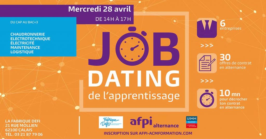 Job dating de l'apprentissage à Calais