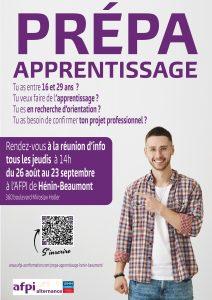 Prépa apprentissage AFPI Hénin-Beaumont
